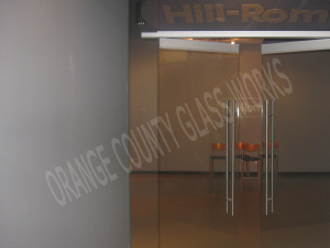orange county glass works commercial interior door