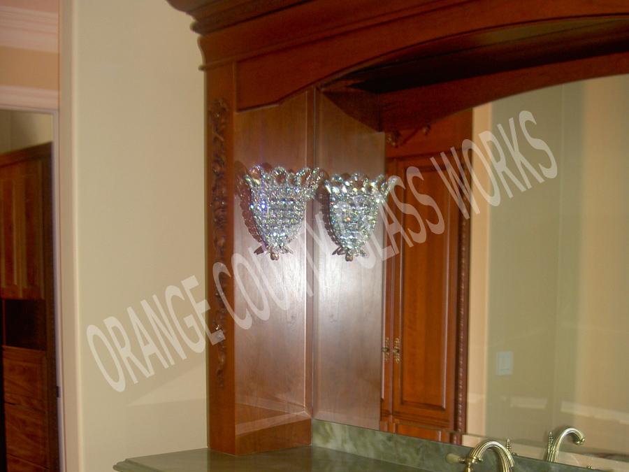 orange county glass works residential mirror